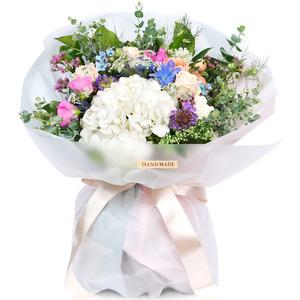 순수 꽃다발