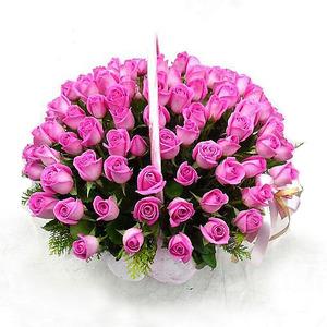 [장미100송이]핑크사랑