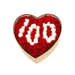 100송이상자(백일만남)